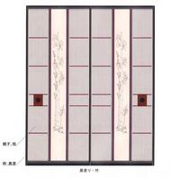 ブラスト竹・黒塗り